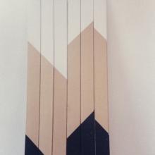 Diagonal-Objekt-3-Holz-120x5cm-1986-Nr-017