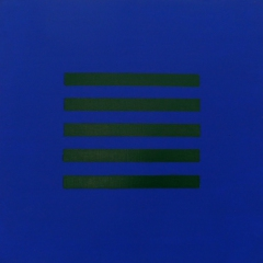 Hölderlin-2-Ultramarin-Permanentgrün-Acryl-Auf-Leinwand-40x40cm-2012-Nr-078099