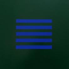 Hölderlin-2-Permanentgrün-Ultramarin-Acryl-Auf-Leinwand-40x40cm-2012-Nr-077097