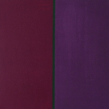 Momentlinie-Rotdunkel-Grün-Violett-Öl-Auf-Leinwand-40x40cm-2003-Nr-048137