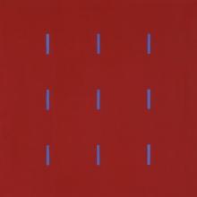 Yala-3x3-Rot-Violett-Acryl-Auf-Leinwand-40x40cm-2005-Nr-039191